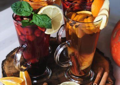 Kawiarnia Legionowo Herbata mocno rozgrzewajaca Słodkie Babki